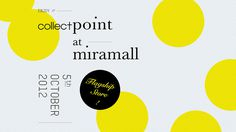 Collect Point Opening : THINGSIDID #flagship #yellow #graphic #opening #point #collect #fashion #japan