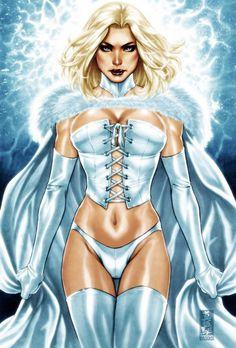 Emma Frost by Diablo2003 known as artist Mark Brooks