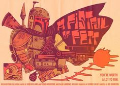 FFFFOUND! | MISTERHIPP: A FISTFUL OF FETT #illustration
