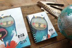 Prinz Apfel Calendar 2014 #prinzapfel #calendar #doodle