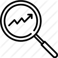 See more icon inspiration related to trend, trending, market trends, business and finance, loupe, stats, shopping cart, directions, magnifying glass, marketing, cart, statistics, graph, search and arrows on Flaticon.