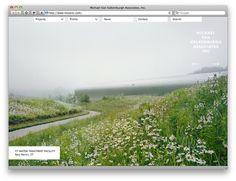 Project Projects — Michael Van Valkenburgh Associates website #website #webdesign