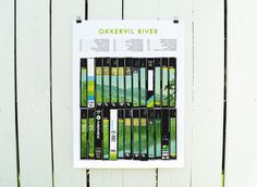 Okkervil River / Tour 2013 - SCOTT CAMPBELL #print #gig #campbell #screen #poster #scott