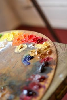 oil paint #paint #palette