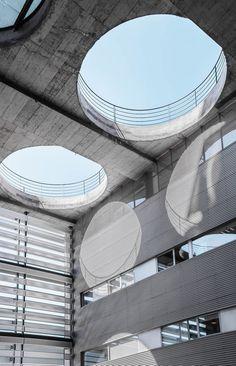 Geometry of Madrid Architecture by Joel Filipe