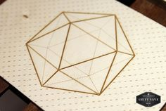 inspireworks #save #movement #wood #shift #polygonal #icosahedron #cameokid #postcard