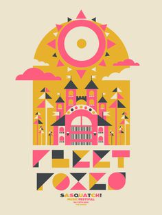 GigPosters.com Fleet Foxes #gig poster