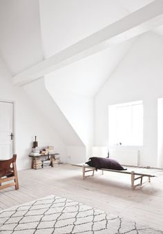 Vedbaek House III by Norm.Architects. #attic #minimalism #normarchitects