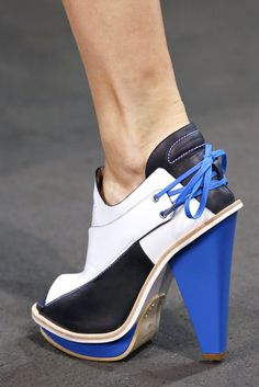 Rag & Bone SS13 #blue #lace #shoes