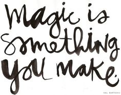 Friday Randomness : Magic + Milkshakes - Jasmine Star Photography Blog #quote #type #ink