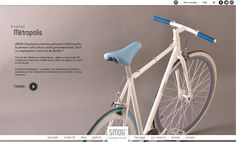 SMOG Bicyclettes by Epok DEsign #webdesign