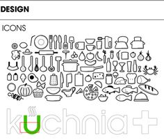 KUCHNIA+ TV CHANNEL ID on Behance #icon #family