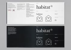Habitat – Identity 2002 | Identity | Graphic Thought Facility #book #guide