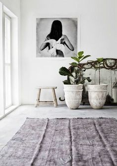 Interior Design #plants #potters