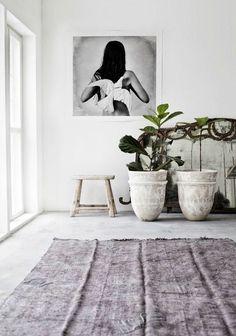 Interior Design #plants #potters