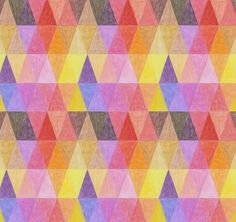 Welcome to the works section darling! #illustration #geometric #colors #mantra #ana montiel