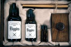 Student Work – Alex Sophocles & Jennifer Cole Phillips | Lovely Package #ink #box #set #bottles #pen