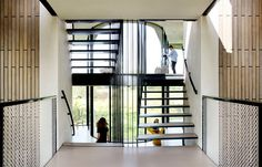 Sustainable Home Designed by UNStudio sustainable solution home 4 #interior #staircase #design #architecture #stairs