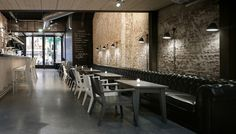 Mazzo by Concrete - Frame Magazine - The Great Indoors #interior #brick #design #restaurant #architecture