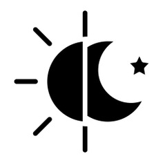 See more icon inspiration related to sun, moon, day, night, forecast, temperature, weather and nature on Flaticon.