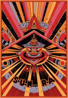 Sun Ra, Kilian Eng #illustration #poster