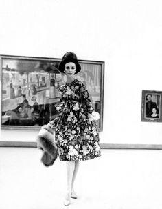 Photo (Wilhelmina 1960 by Kenneth Heilbron)Â | kentson.se #fashion #photography