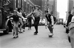 Скейтбординг 60 х Bill Eppridge #oldschool #skateboard #1960s #york #nyc #bw #new