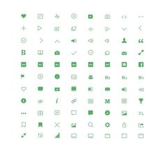 Medium-icons-dribbble #litvinov #dmitri