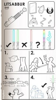 how to build a lightsaber