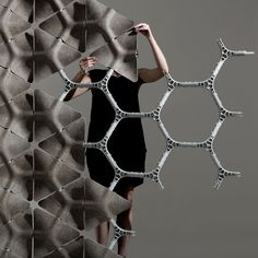 #structure #modular by benjamin Hubert #design #wall