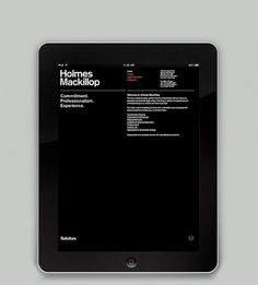 Graphical House - Holmes Mackillop #house #branding #print #mackilop #holmes #graphical