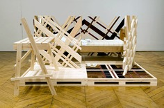 Crate Series by Studio Makkink and Bey   Blue Ant Studio #bed #interior #openplan