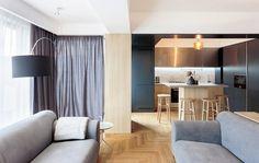 Inviting Apartment With A Stylish and Warm Interior Design Rosu & Ciocodeica 7