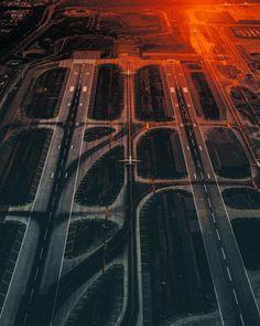 Los Angeles From Above: Vibrant Aerial Shots by ArtbyArtLA