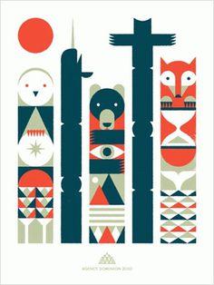 FFFFOUND! | Doublenaut | Work: Posters: Agency Dominion #design #graphic