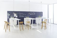 Docks Furniture System —Meier & Till Grosch #interior #office #chalk #furniture #wall #workspace
