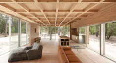 Wooden Villa by Nicolas Dahan Architects