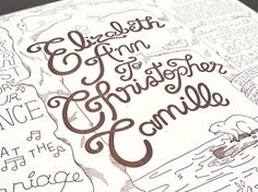 Cyprus Wedding Invitations #type #lettering
