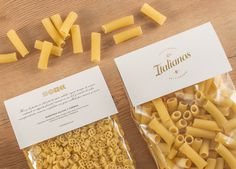 Los Italianos #packaging #pasta #food #branding