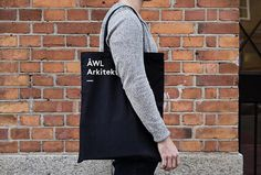 ÅWL Arkitekter by Henrik Nygren #bag #shopper