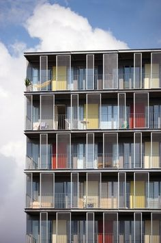 Architecture Photography: Signalhuset / NOBEL - nobel-signalhuset-foto-04-jens-lindhe (1421) – ArchDaily #towers #color #architecture #facades