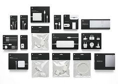 Apple Accessories | Lovely Package #apple package design
