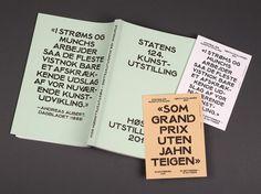 NODE Berlin Oslo — Høstutstillingen '11 #print #layout #typeface #book
