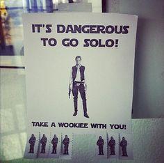 Think.BigChief   It's dangerous to go Solo #propaganda #starwars