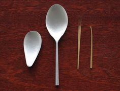 Cutlery by Naho Kamada #minimal #beautiful