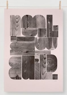 DANIEL FREYTAG / enquiry@danielfreytag.co.uk #print #typography #poster