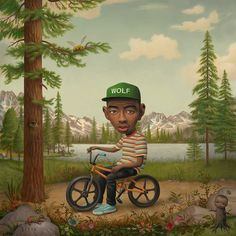 Tyler, The Creator - Wolf #album #supreme #radical #illustration #wolf #art #rad #future