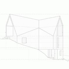 Dezeen » Blog Archive » House at Camusdarach Sands by RAW #lines #plans #architecture