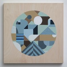 JESSE BROWN - Painting C #illustration #geometric