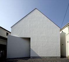 OUCHI-01 house by Jun Ishikawa | Yatzer™ #ohchi #jun #01 #architecture #minimal #ishikawa